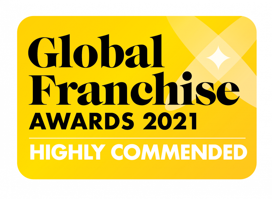 Rainbow Named Highly Commended Brand in Global Franchise Awards 2021