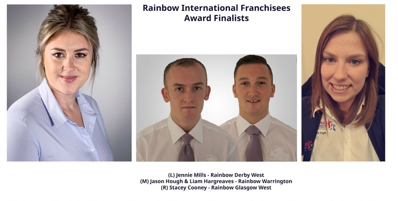 Rainbow Franchisees Get Shortlisted For Major Industry Awards in 2020