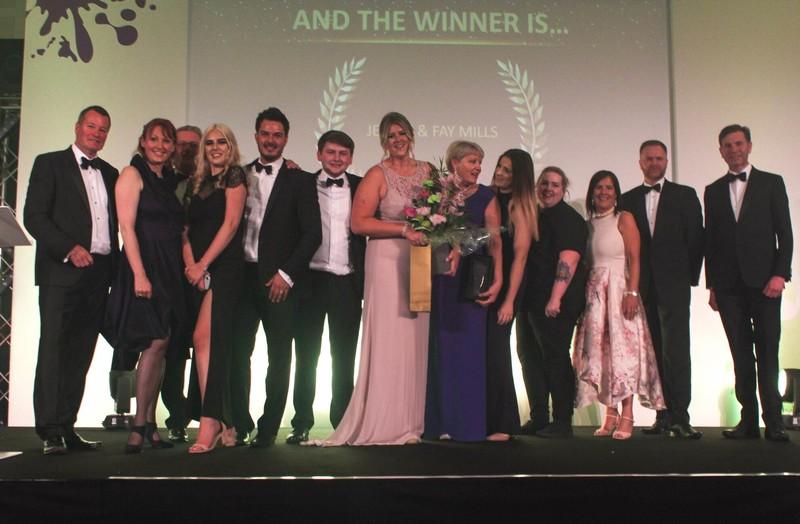 Rainbow International Derbyshire Franchisee, Jennie Mills, Wins 2019 Bfa HSBA Franchise Awards 'Young Female Franchisee Of The Year'