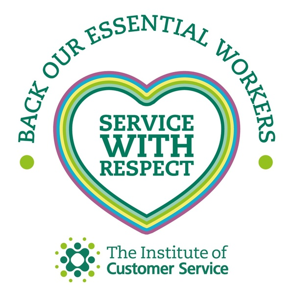Supporting The Institute of Customer Service on their 'Service with Respect' campaign