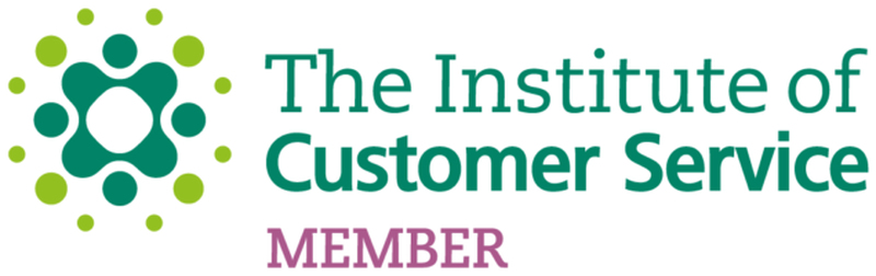 We're official members of The Institute of Customer Service
