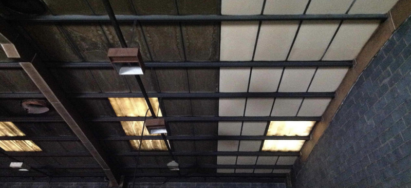 Urgent commercial clean to industrial unit